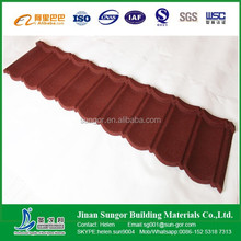 9waves 7 waves classical Stone coated metal roof tile