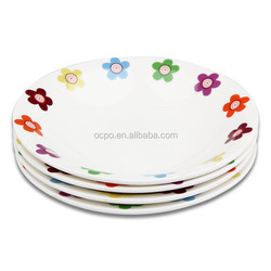 ceramic dinner plates cheap /Factory direct porcelain plate cheap