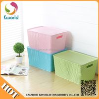 2015 basket container plastic storage box plastic,storage box