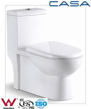 ceramic one piece white square single hole bathroom wholesale fashion white Low price promotion construction toilets