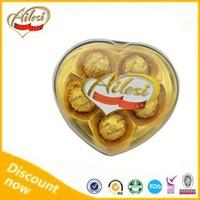 5PC heart shape Ailesi choco chocolate company names/best dark chocolate brands/imported chocolate suppliers