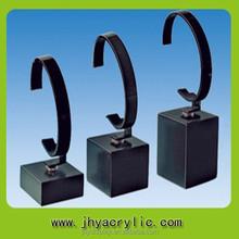 Plastic C Shape Acrylic tables/C Shape Watch Display Stand