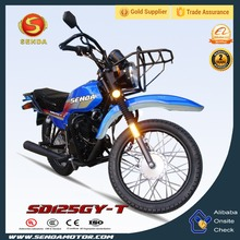 Most Popular 125CC Dirt Bike High Quality Asian Black Cost-effective Motorcycle 125CC SD125GY-T