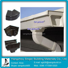 China Best PVC Rain Gutter And Gutter Accessories For Hot sale In Africa