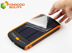 Full capacity high quality 19V 23000 mah solar laptop charger, universal solar power bank for laptop,