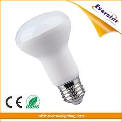 Plastic And Aluminum IC Driver 810LM CRI 80 E26 R20 Bulbs 9W R63 LED