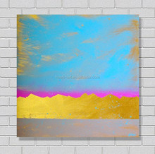 Hot product modern canvas abstract acrylic painting
