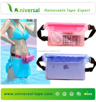 Manufacture high quality mobile phone pvc waterproof bag/waterproof phone case for iphone/waterproof case