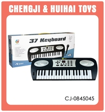 Best quality plastic 37 key usb piano keyboard CJ-0845045