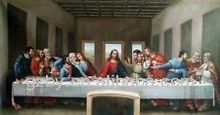 High-Quality Portrait Oil Painting The Last Supper
