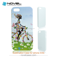 On Sale!!! 2015 Latest 3D DIY Sublimation Phone Case For iphone 5, Customised Phone Cover