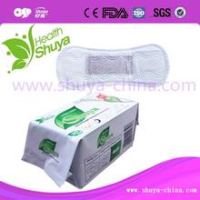 Disposable under arm pad Wholesale Feminine Cotton Sanitary Menstrual pads