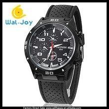 cheap factory direct vogue best selling high popularity men silicon quartz Weijieer watch(WJ-3052)