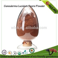 extractosdeplantas juncao orgánica de ganoderma lucidum spore polvo