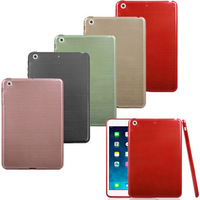 New Arrival 1PC Candy Color Brushed Back Case Cover For iPad Mini Retina 2