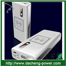 Car power bank wireless charger 12000mAh for phone and Car