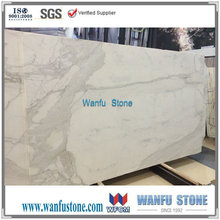 US Standard High Quality Calacatta white polished marble slab/Hot Sale for US Market/Suitable for Countertops and Vanity Tops