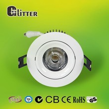 high power dimmable 30w LED COB downlight , 12w dimmable cob led downlight