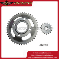 High quality 100cc 125cc 150cc 250cc motorcycle sprocket for sale