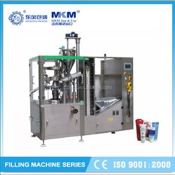 Cream Filling Machine Plastic Tube Filling And Sealing Machine,Soft Tube Filler And Sealer