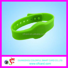 Branded new coming rfid woven wristband ntag 203