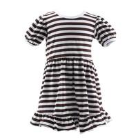 2015 wholesale smocked dresses toddler girls dresses girls boutique cotton stripe dress