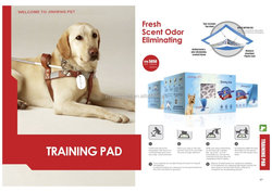 High absorbent PE film which is waterproof All Dogs Training Pads