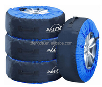 spare car tire cover with handle