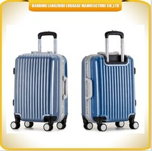ABS hard luggage trolley hard case luggage 4 wheels spinner ABS hard shell luggage