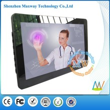 15.6 inch multifunctional digital photo frame touch screen, Android OS 4.4 wifi digital photo frame