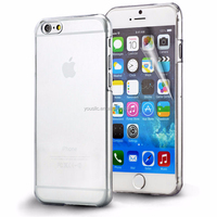 For Crystal Clear iPhone 6 Case Plastic Ultra Thin Hard Transparent Cover