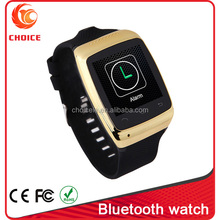 cheap touch screen bluetooth fashion watch mobile phone factory
