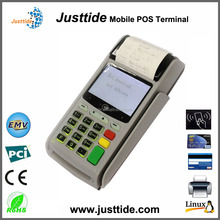 Justtide Factory Price GPRS WiFi Receipt Printer WiFi Linux POS Machine