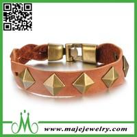 High Quality Leather Bracelet Cheap Mens Leather Bracelets Jewelry Wholesale
