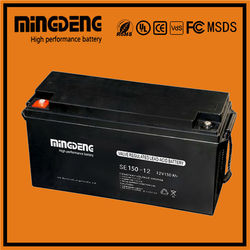 Pakistan market deep cycle agm battery 12v 150ah with high quality