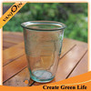 Elegant Appearance 500ml Recycled Crushed Cup Green Color