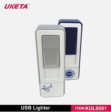 2014 NEWEST HIGH QUALITY BRAND SMOKELESS ZINC ALLOY METAL CASE RECHARGEABLE CIGARETTE USB LIGHTER WITH MEMORY FUNCTION