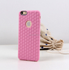 Honeycombed soft silicone mobile phone case for iPhone 6/plus