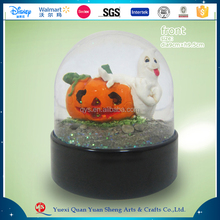 Polyresin Halloween Gift,Resin Halloween Decoration Halloween Snow Globe
