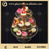 2014Top sale special customized design 3 tier cake stand,acrylic cake display stand