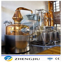 CE Approved Distillery for sale 100L-800L Column Still Whisky Rum Gin Vodka Brandy Spirit