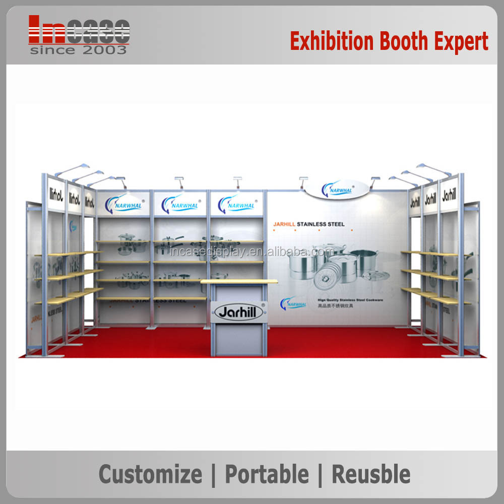 Modular Exhibition Stand Quotes : Ft customized cosmetic exhibition modular display stand