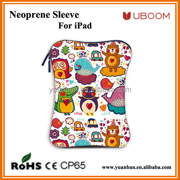 10inch neoprene universal sleeve for tablet cover