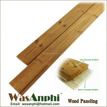 Top Quality Solid Wood Exterior Wall Panel & Carbonized Wood