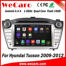 Wecaro WC-HIX7013 Android 4.4.4 car multimedia system double din double din car dvd player for hyundai tucson stereo tv