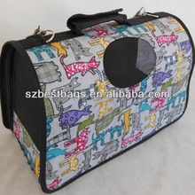 Oxford fabric pet carrier for travel