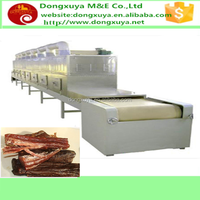 Dried beef & Chicken jerky Processing Types and Dryer Processing microwave dryer