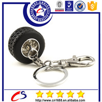 Customized metal vehicle shape rubber keyring design keychain for promotional