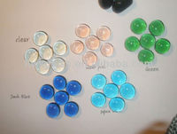Aquarium Color decorative flat glass beads