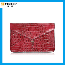 """YINUO Multi-Color Fasion Hasp Leather Laptop Sleeve Bag 11.6""""/13.3 inch for MacBook Air"""